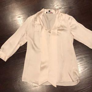 Silk banana republic blouse